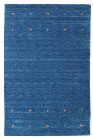 Gabbeh Loom Two Lines - Blue Rug 190X290 Modern Dark Blue/Blue (Wool, India)