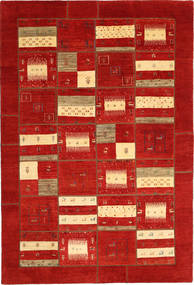 Gabbes Persia Patchwork Rug 202X305 Authentic  Modern Handknotted Rust Red (Wool, Persia/Iran)