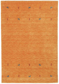 Gabbeh Loom Two Lines - Oransje Teppe 160X230 Moderne Orange (Ull, India)