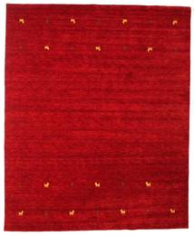 Gabbeh Loom Two Lines - Red Rug 240X290 Modern Crimson Red (Wool, India)