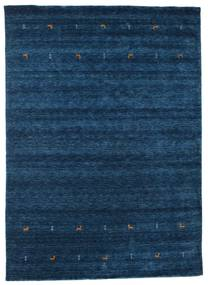Gabbeh Loom Two Lines - Dark Blue Rug 240X340 Modern Dark Blue (Wool, India)