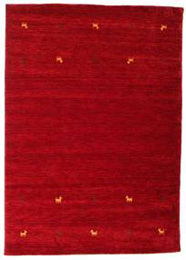 Gabbeh loom Two Lines - Dark Red carpet CVD15026