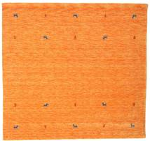 Gabbeh Loom Two Lines - Oransje Teppe 200X200 Moderne Kvadratisk Orange (Ull, India)