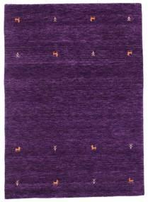 Gabbeh Loom Two Lines - Violet Tapis 140X200 Moderne Violet Foncé (Laine, Inde)