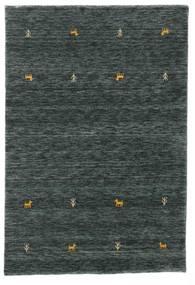 Gabbeh loom Two Lines - Sötétszürke / Zöld szőnyeg CVD15091