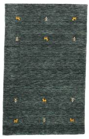 Gabbeh loom - Dark Grey / Green rug CVD15092