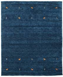 Gabbeh Loom Two Lines - Dark Blue Rug 190X240 Modern Dark Blue (Wool, India)