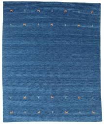 Gabbeh Loom Two Lines - Blau Teppich  240X290 Moderner Dunkelblau/Blau (Wolle, Indien)