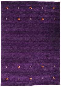 Gabbeh Loom Two Lines - Purple Rug 160X230 Modern Dark Purple (Wool, India)
