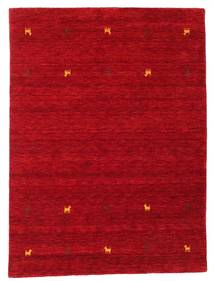 Gabbeh loom Two Lines - Dark Red carpet CVD15029