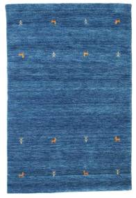 Tapis Gabbeh loom Two Lines - Bleu CVD15076
