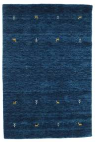Gabbeh loom Two Lines - Dark Blue rug CVD14986