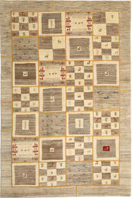 Gabbes Persia Patchwork Rug 202X305 Authentic  Modern Handknotted Light Brown/Dark Beige (Wool, Persia/Iran)