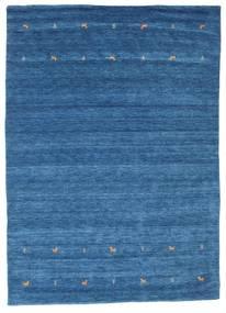 Gabbeh Loom Two Lines - Blå Matta 240X340 Modern Blå/Mörkblå (Ull, Indien)
