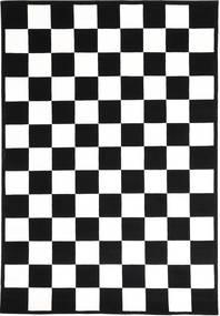 Himalaya 絨毯 162X237 モダン 手織り 黒/ホワイト/クリーム色 ( インド)