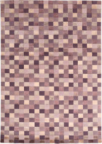 Himalaya Rug 170X240 Authentic  Modern Handknotted Light Purple/Light Pink ( India)