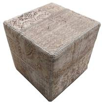 Patchwork stool ottoman teppe BHKW38