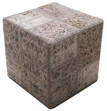 Patchwork stool ottoman carpet BHKW44