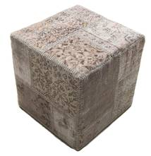Patchwork stool ottoman carpet BHKW50