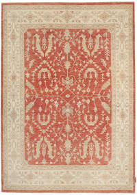 Ziegler Rug 167X241 Authentic  Oriental Handknotted Light Brown/Brown (Wool, Pakistan)