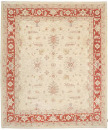 Ziegler Rug 250X302 Authentic Oriental Handknotted Beige/Light Brown Large (Wool, Pakistan)
