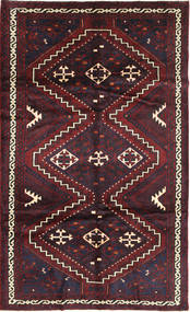 Lori Rug 175X293 Authentic  Oriental Handknotted Dark Red (Wool, Persia/Iran)