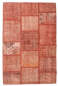 Patchwork Szőnyeg 120X181 Modern Csomózású Világos Rózsaszín/Piros/Sötétpiros (Gyapjú, Törökország)