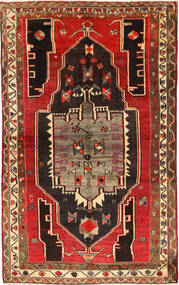 Lori Rug 152X238 Authentic  Oriental Handknotted Dark Red/Light Brown (Wool, Persia/Iran)