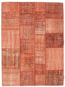 Patchwork Teppich  171X232 Echter Moderner Handgeknüpfter Rot/Hellrosa (Wolle, Türkei)