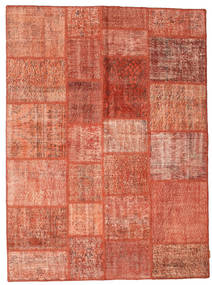 Patchwork Rug 171X232 Authentic  Modern Handknotted Light Brown/Light Pink (Wool, Turkey)