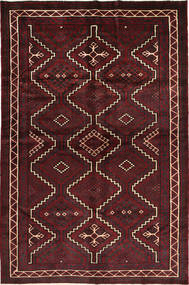 Lori Rug 168X252 Authentic  Oriental Handknotted Dark Red/Dark Brown (Wool, Persia/Iran)