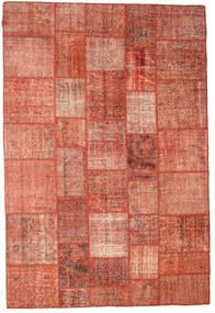 Patchwork Tapete 202X300 Moderno Feito A Mão Castanho Claro/Luz Rosa/Castanho (Lã, Turquia)