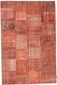 Patchwork Dywan 196X300 Nowoczesny Tkany Ręcznie Jasnobrązowy/Rdzawy/Czerwony (Wełna, Turcja)