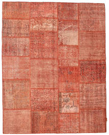 Patchwork Rug 198X252 Authentic  Modern Handknotted Light Brown/Light Pink (Wool, Turkey)