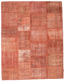 Patchwork Rug 197X252 Authentic  Modern Handknotted Light Brown/Light Pink (Wool, Turkey)