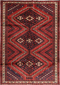 Lori Rug 185X275 Authentic  Oriental Handknotted Dark Red/Black (Wool, Persia/Iran)