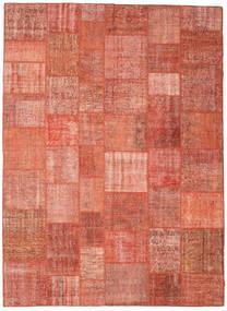 Patchwork Szőnyeg 267X367 Modern Csomózású Világos Rózsaszín/Világosbarna Nagy (Gyapjú, Törökország)