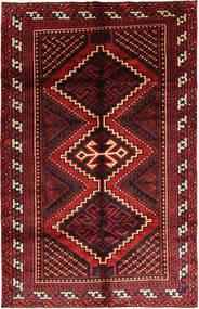 Lori Covor 163X250 Orientale Lucrat Manual Roșu-Închis/Negru (Lână, Persia/Iran)