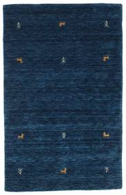 Gabbeh Loom Two Lines - Dark Blue Rug 100X160 Modern Dark Blue (Wool, India)