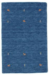 Gabbeh Loom Two Lines - Blue Rug 100X160 Modern Dark Blue/Blue (Wool, India)