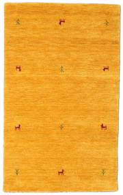 Gabbeh Loom Two Lines - Yellow Rug 100X160 Modern Orange (Wool, India)