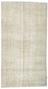 Colored Vintage Rug 151X282 Authentic  Modern Handknotted Dark Beige/Light Grey (Wool, Turkey)