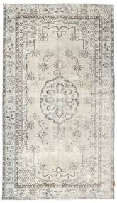 Colored Vintage Rug 156X273 Authentic  Modern Handknotted Light Grey/Dark Beige (Wool, Turkey)