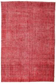 Colored Vintage Rug 215X325 Authentic  Modern Handknotted Crimson Red/Rust Red (Wool, Turkey)