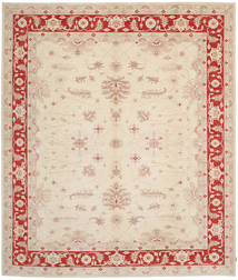Ziegler Rug 361X403 Authentic  Oriental Handknotted Beige Large (Wool, Pakistan)