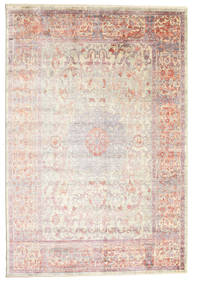 Mira - Light Green Rug 200X300 Modern Beige/Light Grey/Light Pink ( Turkey)