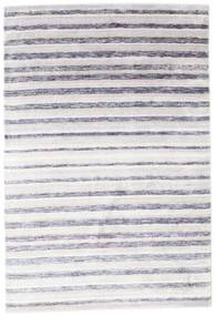 Bamboo シルク ハンドルーム 絨毯 160X235 モダン 手織り ホワイト/クリーム色/薄紫色/ベージュ ( インド)