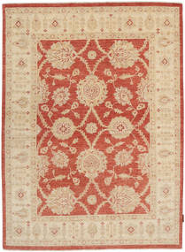 Ziegler Rug 150X205 Authentic  Oriental Handknotted Light Brown/Dark Beige (Wool, Pakistan)
