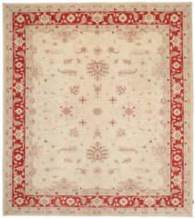 Ziegler Rug 360X407 Authentic  Oriental Handknotted Beige/Dark Red Large (Wool, Pakistan)