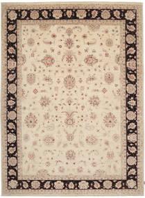 Ziegler Teppich  294X405 Echter Orientalischer Handgeknüpfter Beige/Dunkelbraun Großer (Wolle, Pakistan)